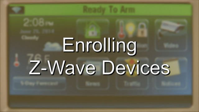 Z-Wave Devices with the LYNX Touch 5200/7000