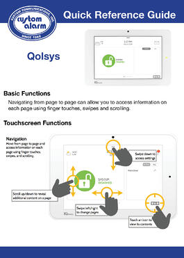 Qolsys Reference Guide