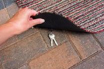 bigstock-Person-Lifting-A-Door-Mat-To-R-255481387