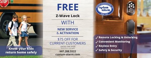 zwave Lock promo