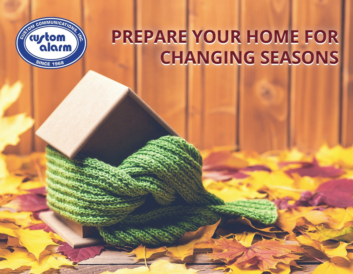 prepare home for change seasons
